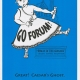 "Glee Club's 1997-1998 production, ""Go Forum!,"" program cover"