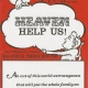 Glee Club's 1987-1988 production, Heaven Help Us!, program cover