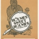 Glee Club's 1985-1986 production, Holmes Sweet Holmes, program cover