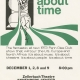 Glee Club's 1972-1973 production, It's About Time, poster