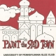 Glee Club's 1971-1972 production, Paint the Red Town, program cover