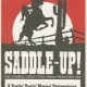 Glee Club's 1982-1983 production, Saddle-Up!, program cover