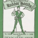 Glee Club's 1983-1984 production, Ye Merrie Adventures of Robbin' Hoods, program cover