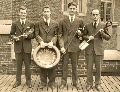 Senior Honor Men, 1939