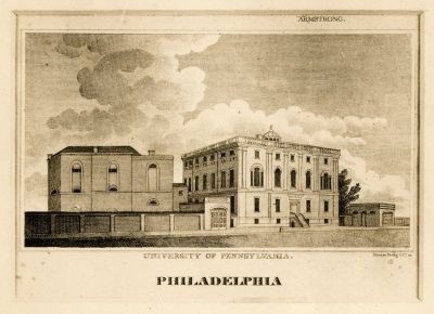 Ninth Street Campus, engraving, 1810
