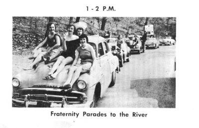 Skimmer, Fraternity Motorcade, 1954