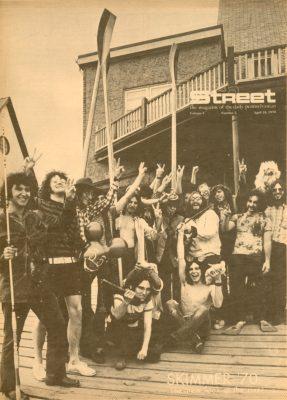 Skimmer, Hippie Style, 1970