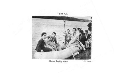 Skimmer, Honor Society Race, 1954