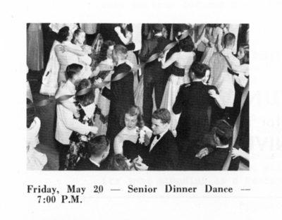 Skimmer, Senior Dinner Dance, 1960
