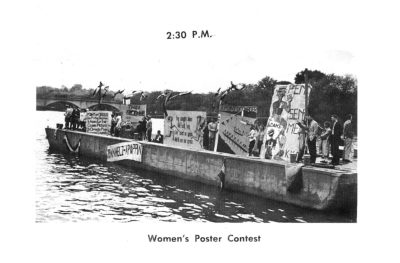 Skimmer, Poster Contest, 1954