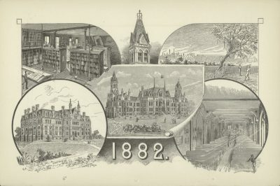 University of Pennsylvania Campus, 1882