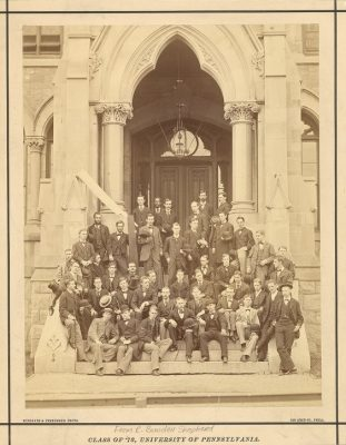 43 Members of the Graduating Class of 1878