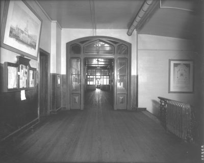 College Hall, 3rd Floor Hall, 1907