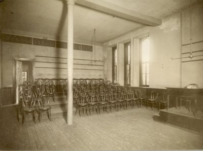 College Hall, English Recitation Room, 1885