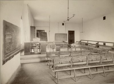 College Hall, French Recitation Room, 1885