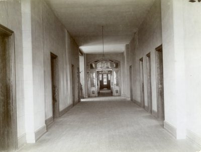 College Hall Main Corridor, 1901