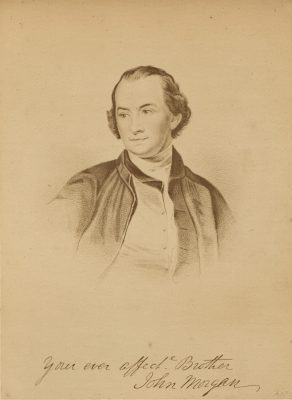 Figure 4. John Morgan, MD. co-founder of the Medical Department of the College of Philadelphia