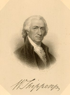 Figure 5. William Shippen, Jr., MD. co-founder of the Medical Department of the College of Philadelphia