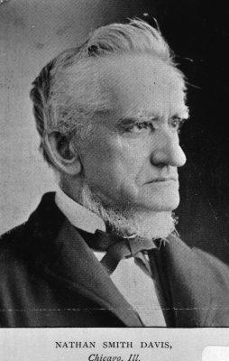 Figure 7: Medical reformer Nathan Smith Davis, MD. National Library of Medicine.