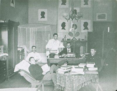 Living quarters of Benjamin Brooke, Medical Class of 1889, c. 1887