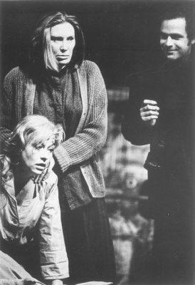 """Das Schloss"" (""The Castle""), a play by Franz Kafka, a scene from the Penn performance, 1935"