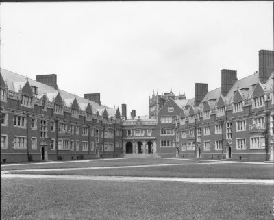 'Upper Quad,' Dormitory Quadrangles, 1903