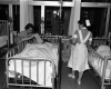 Hospital of the University of Pennsylvania, recovery room, c. 1962