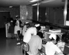 Hospital of the University of Pennsylvania, nurses station, c. 1962