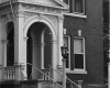 Presbyterian Hospital, entrance, c. 1962