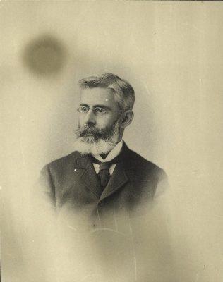 Juan Guiteras y Gener (1852-1925), M.D. 1873, Ph.D. 1873, Cuban alumnus, 1900