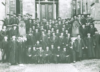 Medical Class of 1889, 1887