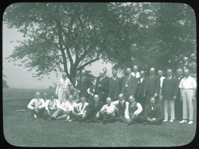 Medical Class of 1889, 1924 reunion at Alfred Stengel's farm