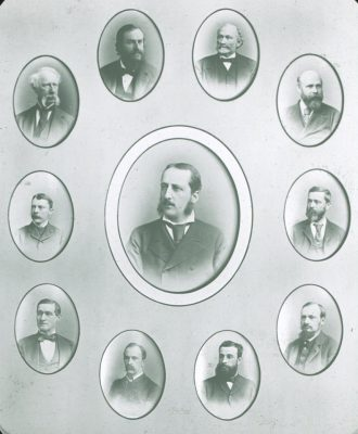 Medical faculty, c. 1885
