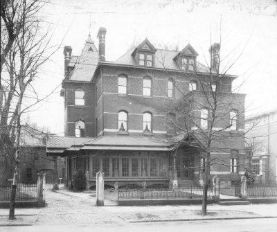 Potts mansion, International House, 3905 Spruce St. 1918
