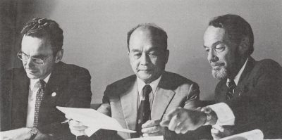 Shanghai Jiao Tong University signs an agreement with the University of Pennsylvania, 1980