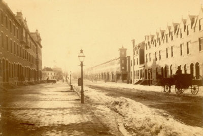 Walnut Street, 3300 block, 1882