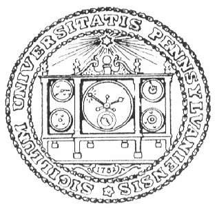 Seal of the University of Pennsylvania, 1782-1847