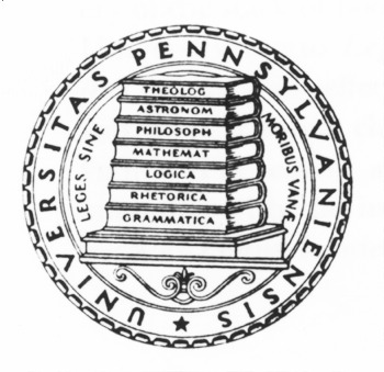 Seal of the University of Pennsylvania, 1933-Present