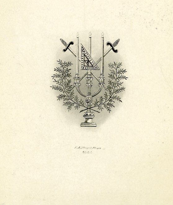 Acacia Fraternity, Franklin Chapter, insignia