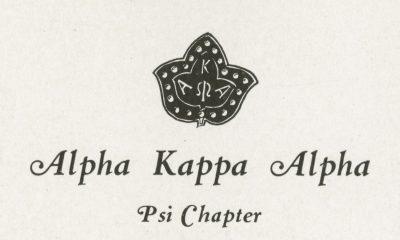 Alpha Kappa Alpha, sorority, insignia, 1926