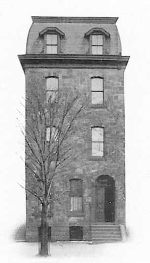 Alpha Tau Omega, Tau chapter fraternity house, 1905