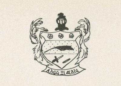 Alpha Xi Delta, sorority, insignia, 1951