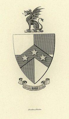Beta Theta Pi fraternity, insignia, 1901