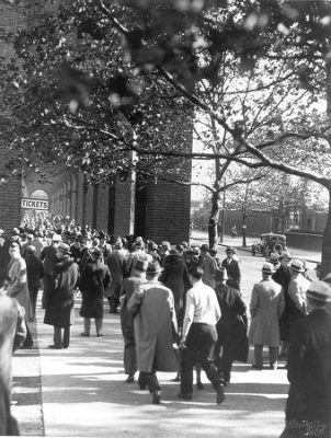 Franklin Field, tickets crowd, 1926