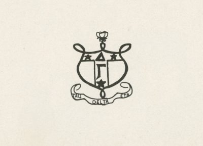 Delta Gamma, sorority, insignia, 1951