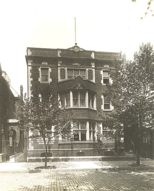Delta Psi, Delta Chapter (St. Anthony Club) fraternity house, 1920
