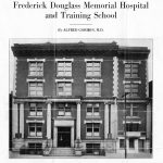 'Frederick Douglass Memorial Hospital and Training School,' by Alfred Gordon, cover