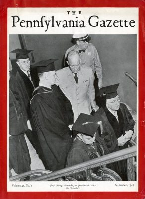 General Dwight D. Eisenhower visit to the University of Pennsylvania