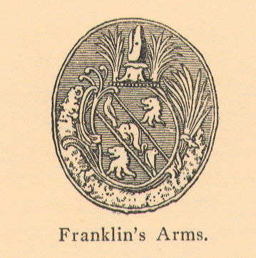 Benjamin Franklin's Coat of Arms