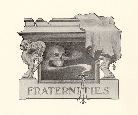 Fraternities illustration, 1901
